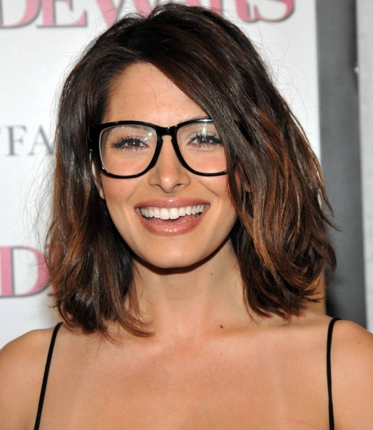 Top 30 HairStyles with Bangs and Glasses, the perfect combination ...