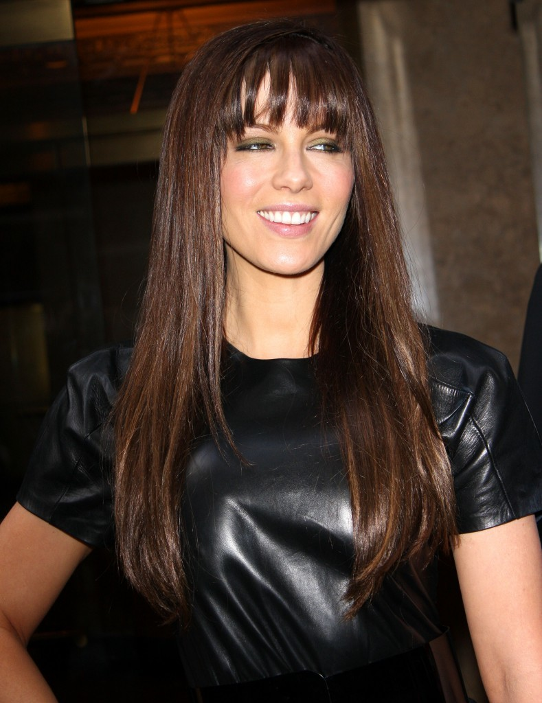 long hairstyles with bangs for oval faces - 13