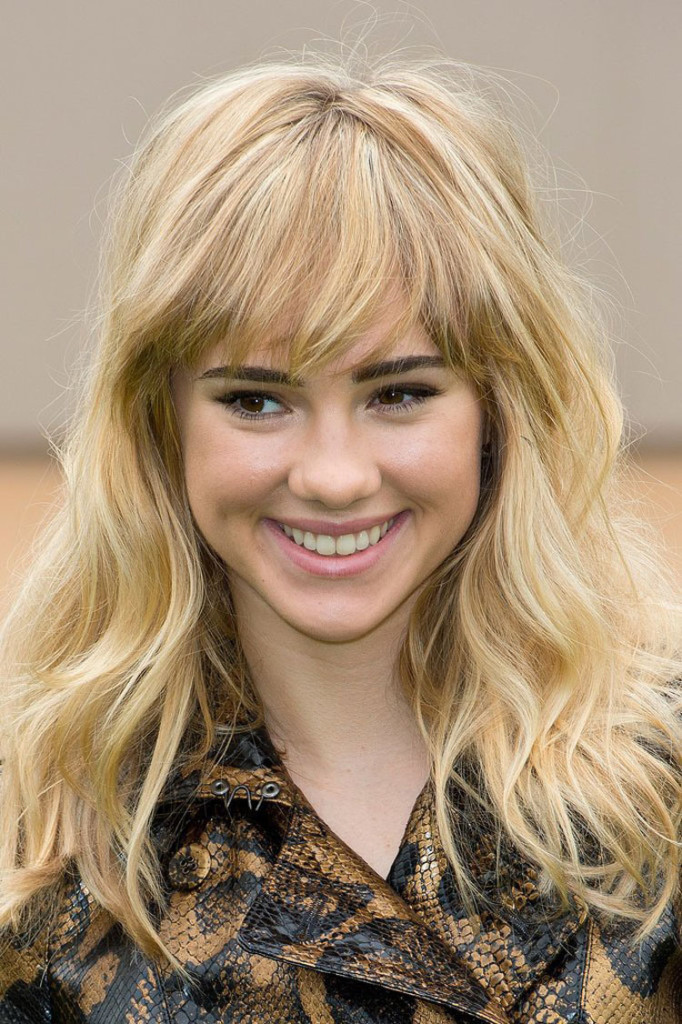 medium choppy hairstyles with bangs - 14