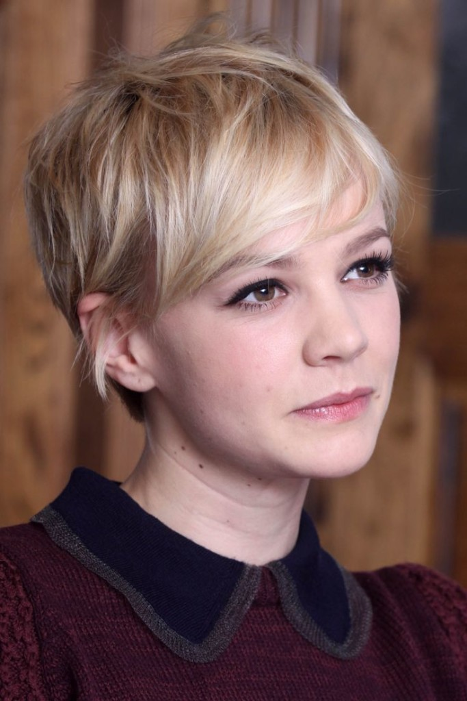 pixie hairstyles with long bangs - 16