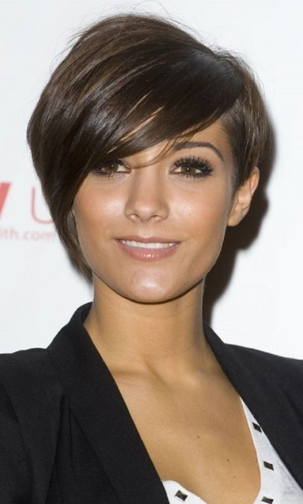pixie hairstyles with long bangs - 18