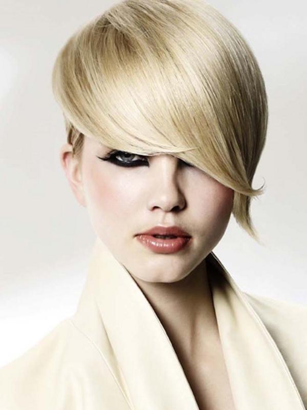 Fine Top 10 Short Hairstyles Rocking Bangs Hairstyles For Woman Short Hairstyles Gunalazisus