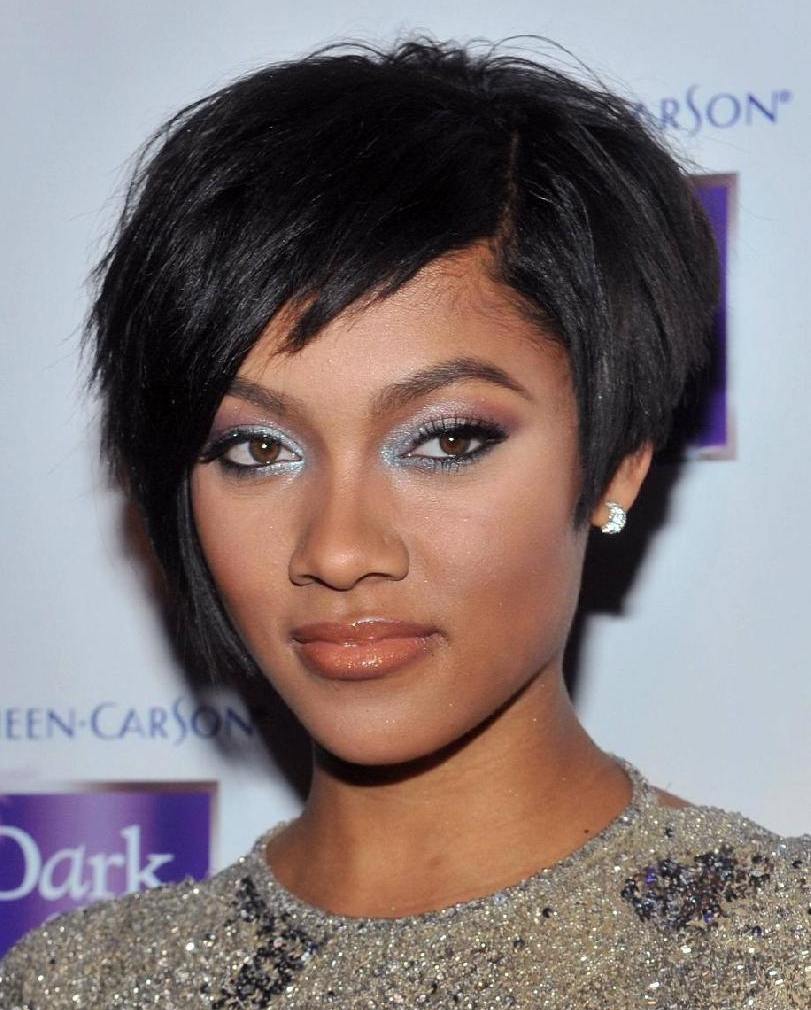 Outstanding Top 17 Of The Best Short Hairstyles For Black Women 2015 Hairstyles For Men Maxibearus