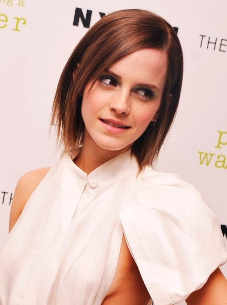 short natural straight hairstyles photo - 16