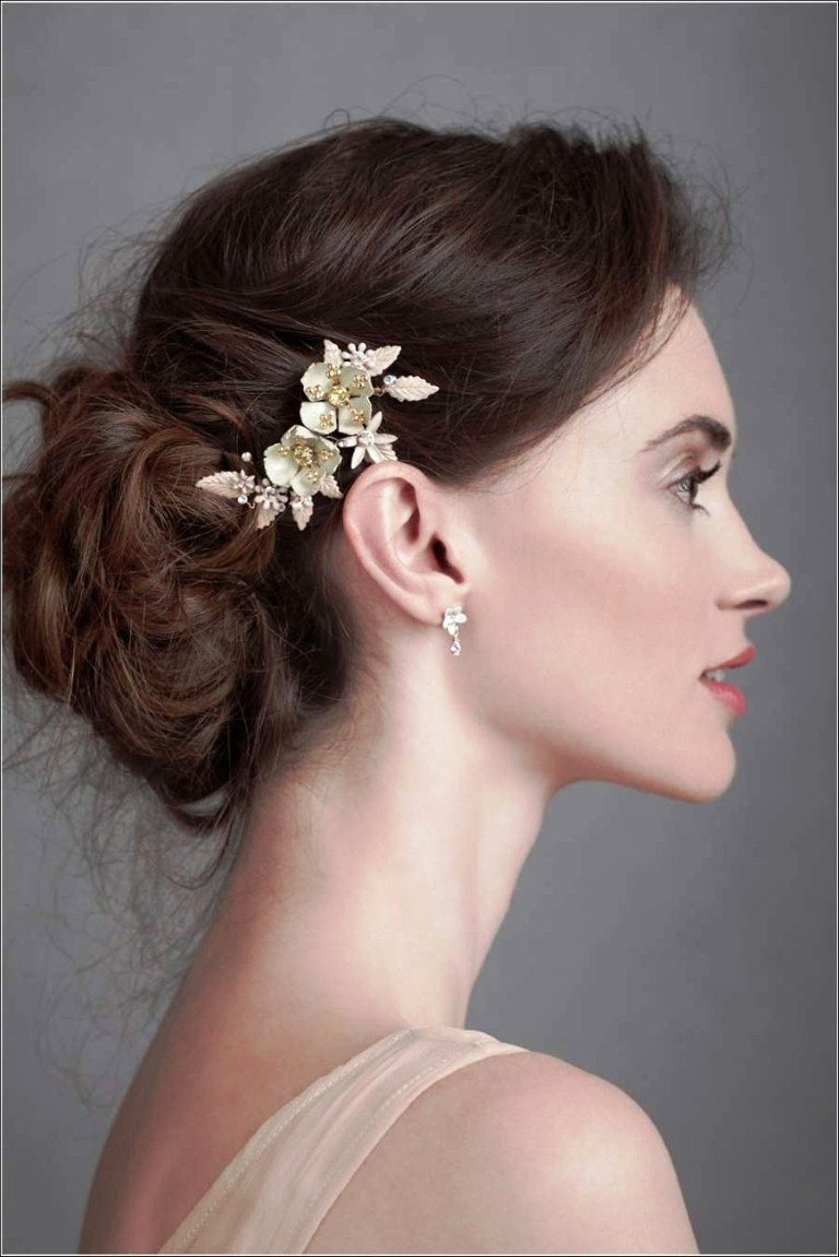 Wedding Hairstyles For Thin Hair - Easy Casual Hairstyles For Long ...