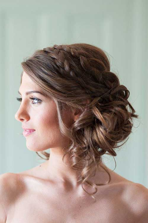 Magnificent Hairstyles For Bridesmaids Hairstyles For Woman Hairstyle Inspiration Daily Dogsangcom