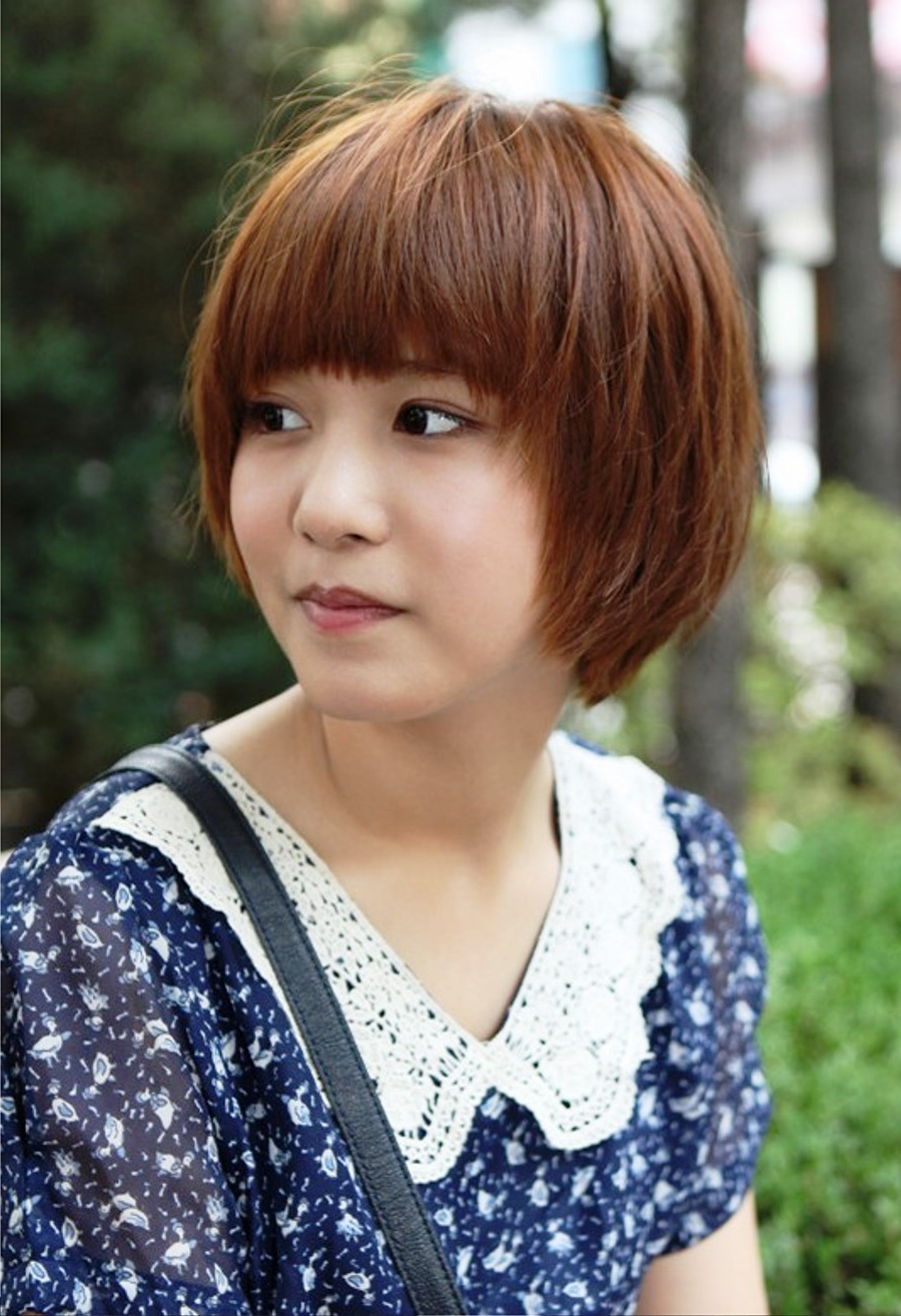 Latest haircut for asian women 2014