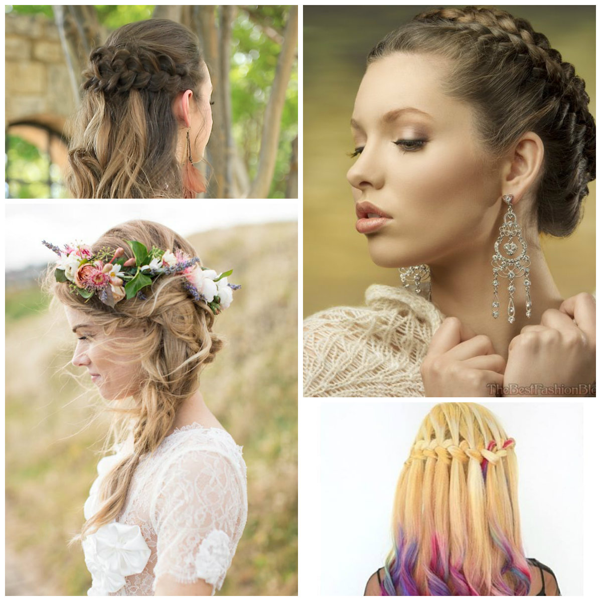 Prom Hairstyles For Medium Length Hair Projects To Try Braided