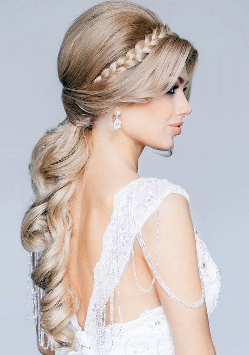35 hairstyles for wedding long hairstyles 2016 2017 - Prom Hairstyles 35 Methods To Complete Your Look Hairstyles For Woman