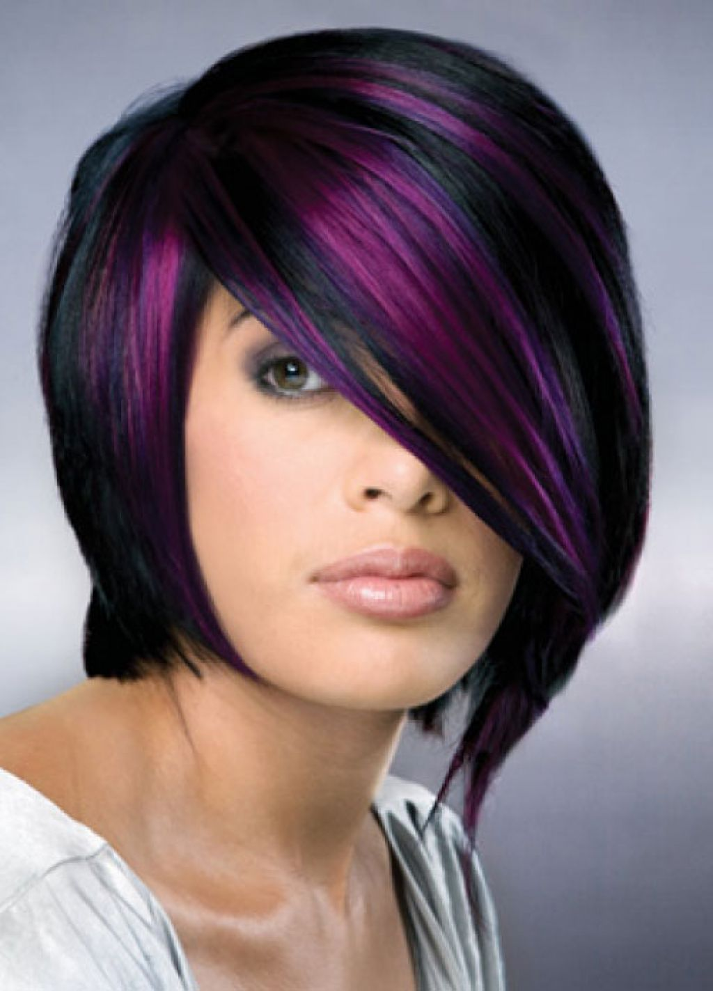 purple hair for women � 35 excessively radical touches