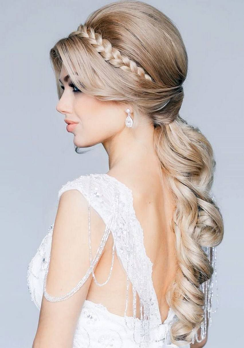TOP 35 Wedding hairstyles for women in 2018 – HairStyles for Woman