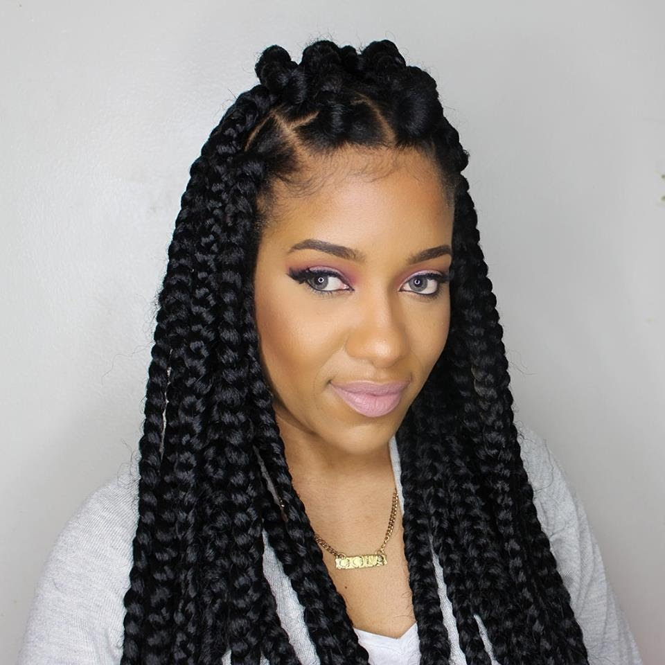 how to do different hair styles jumbo box braids amazing term protective style 2918