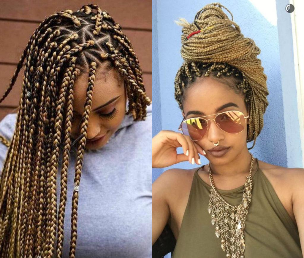 jumbo box braids � amazing long term protective style