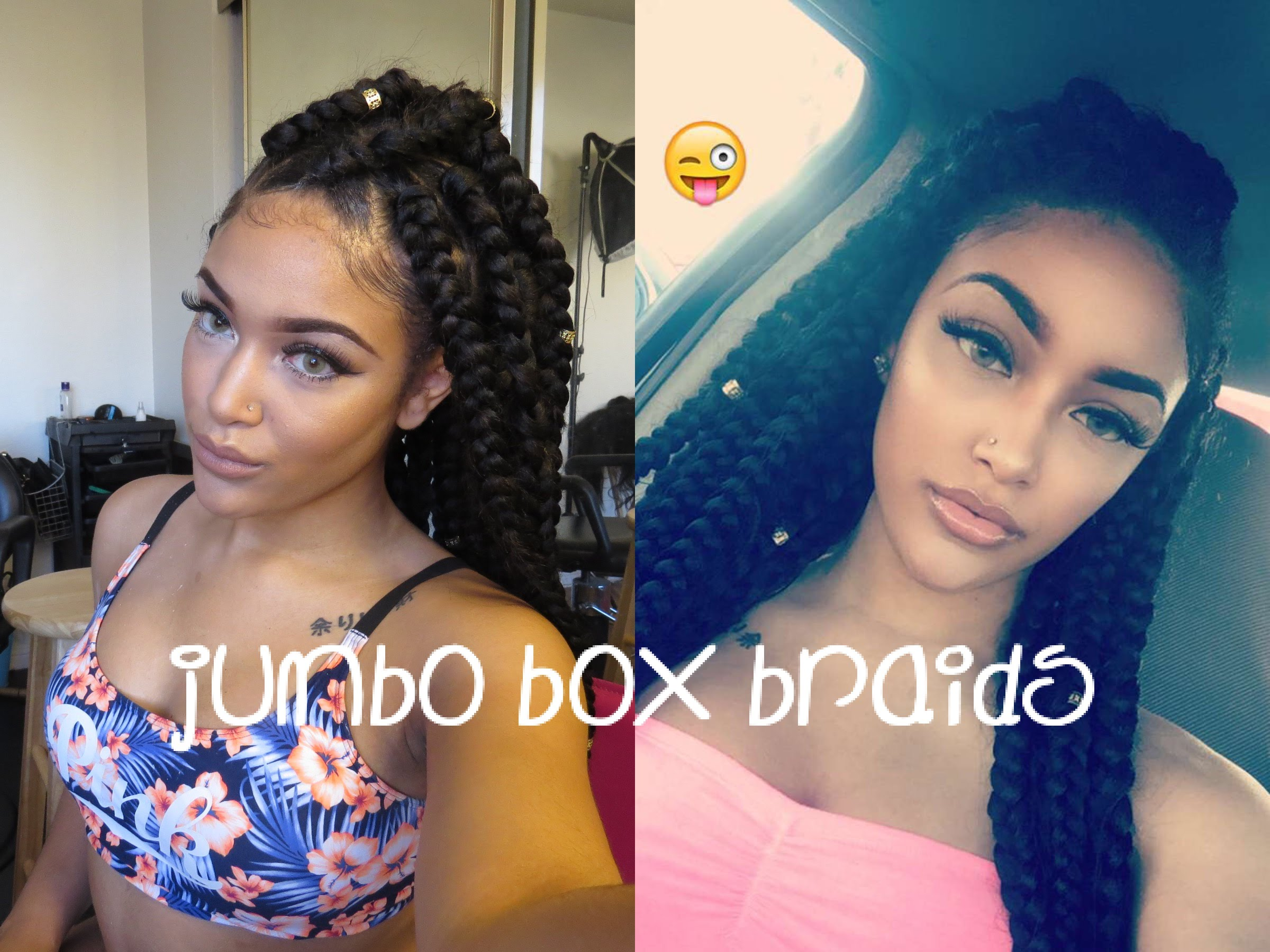 Jumbo box braids – Amazing Long Term Protective Style – HairStyles for Woman