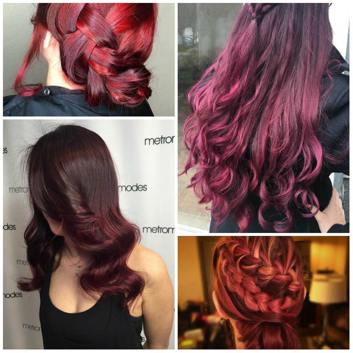 Top 20 Transformations With Maroon Hair Color Hairstyles For Women