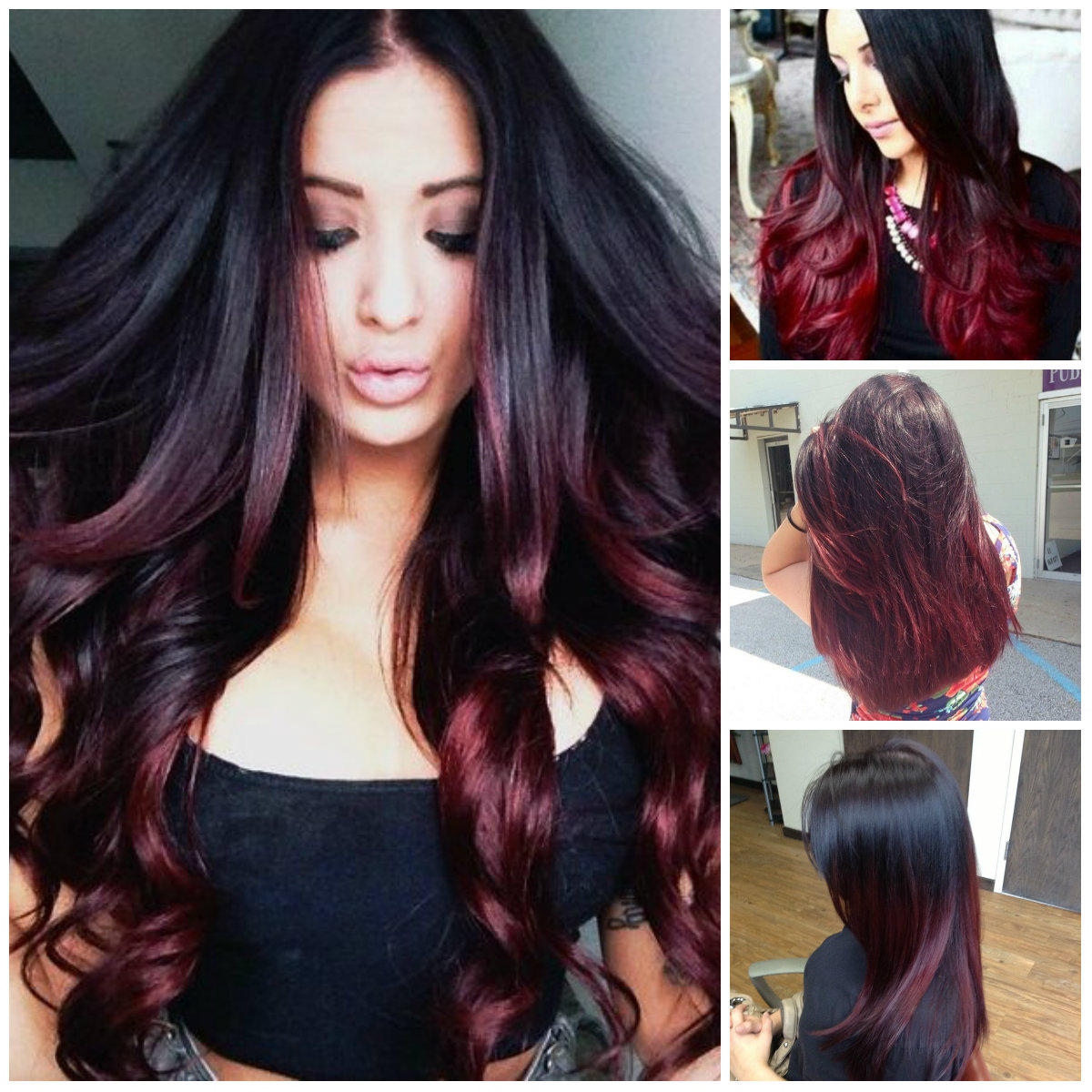 Top 20 Transformations With Maroon Hair Color Hairstyles