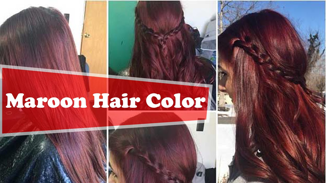Top 20 Transformations With Maroon Hair Color Page 5 Hairstyles