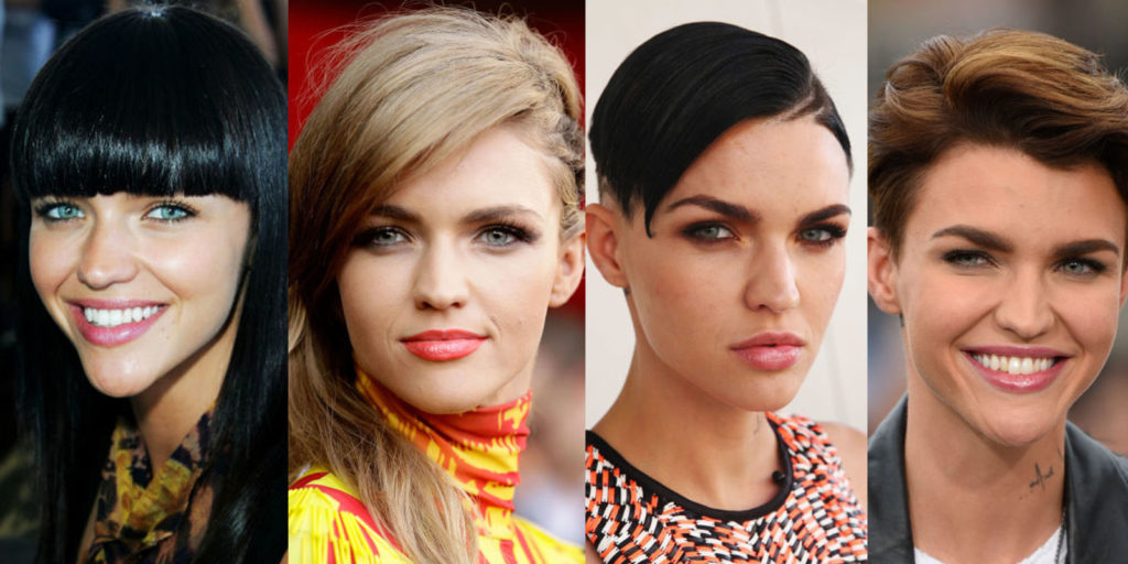 Ruby Rose Celebrity Hair Changes Really: Fashion Inspiration For Most Women