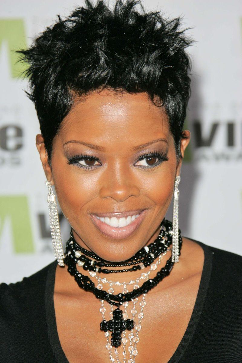Best Short Hairstyles Black Women Thin Hair