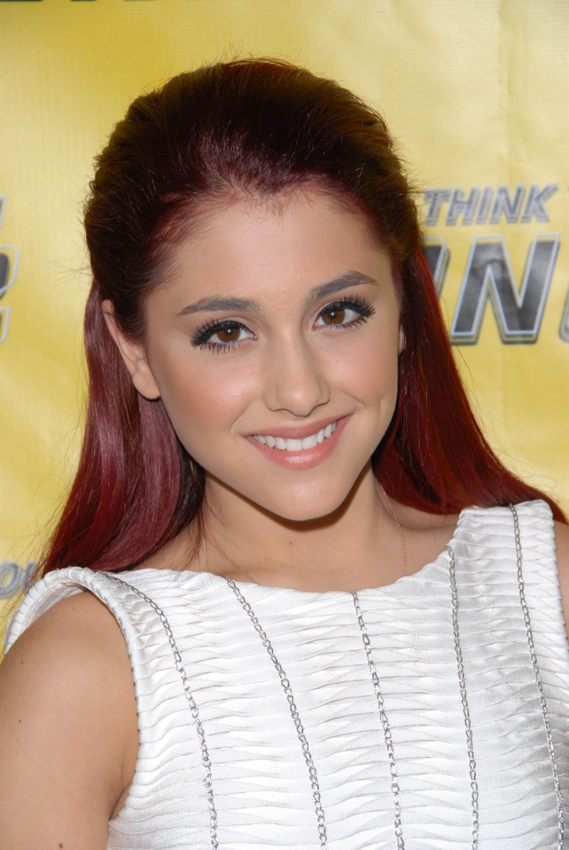 Are right. ariana grande brown hair confirm