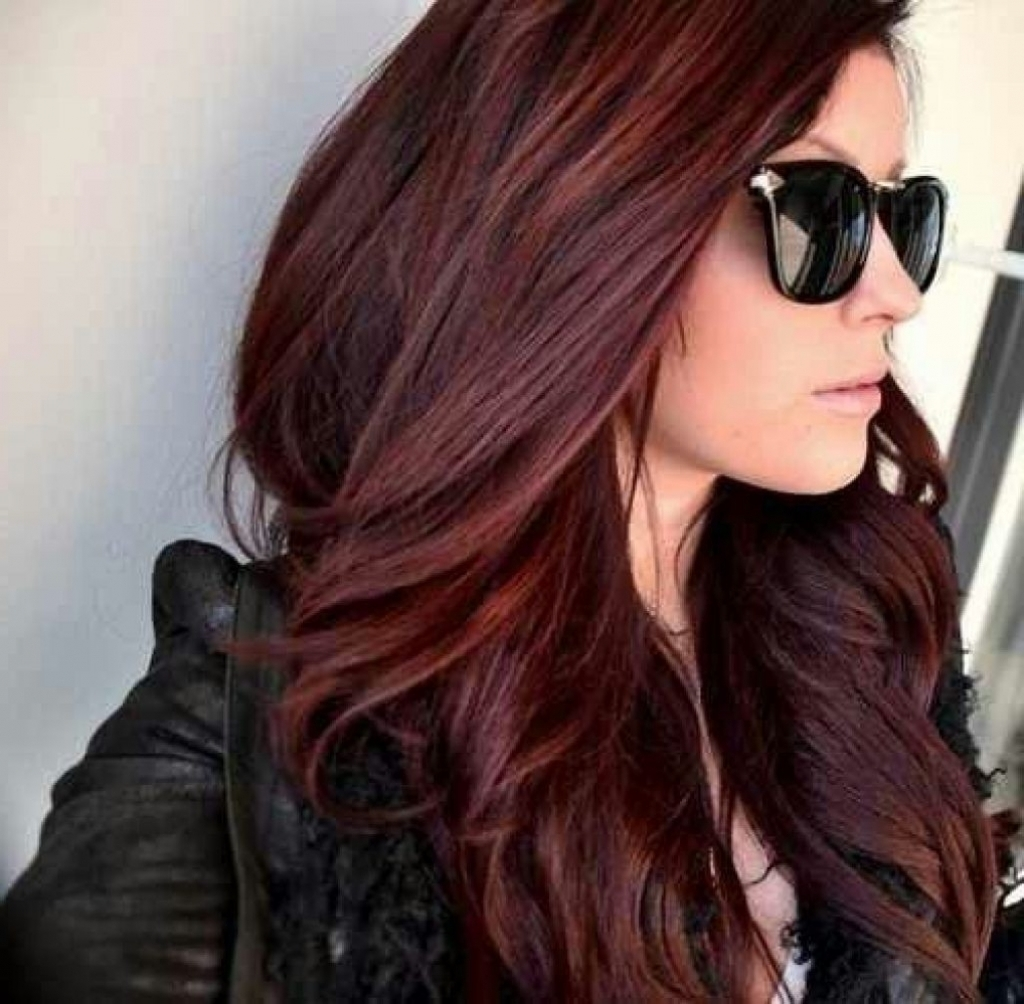 20 benefits of burgundy hair color hairstyles for woman next1 of 20 urmus Gallery