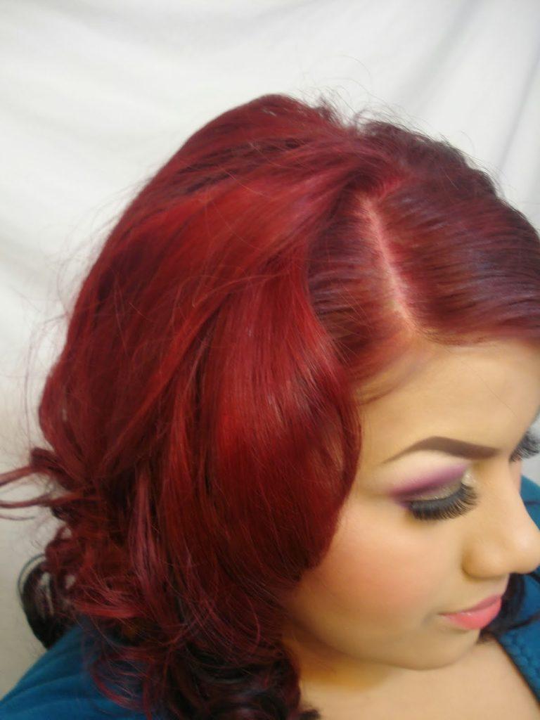 Wow Hair Dye Newhairstylesformen2014com Of Burgundy Brown