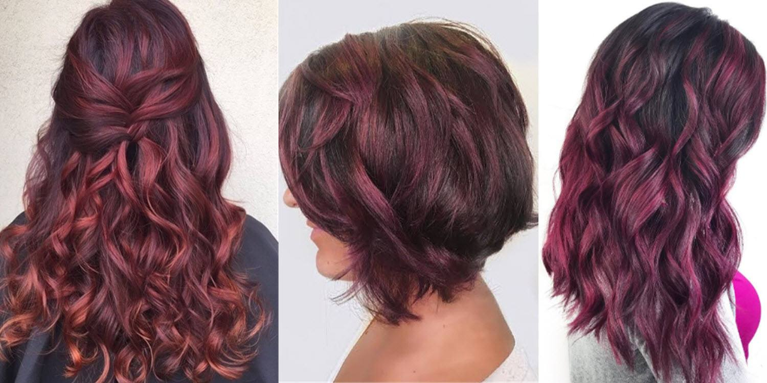 23 Beautiful Shades Of Burgundy Hair Color For 2017 Of