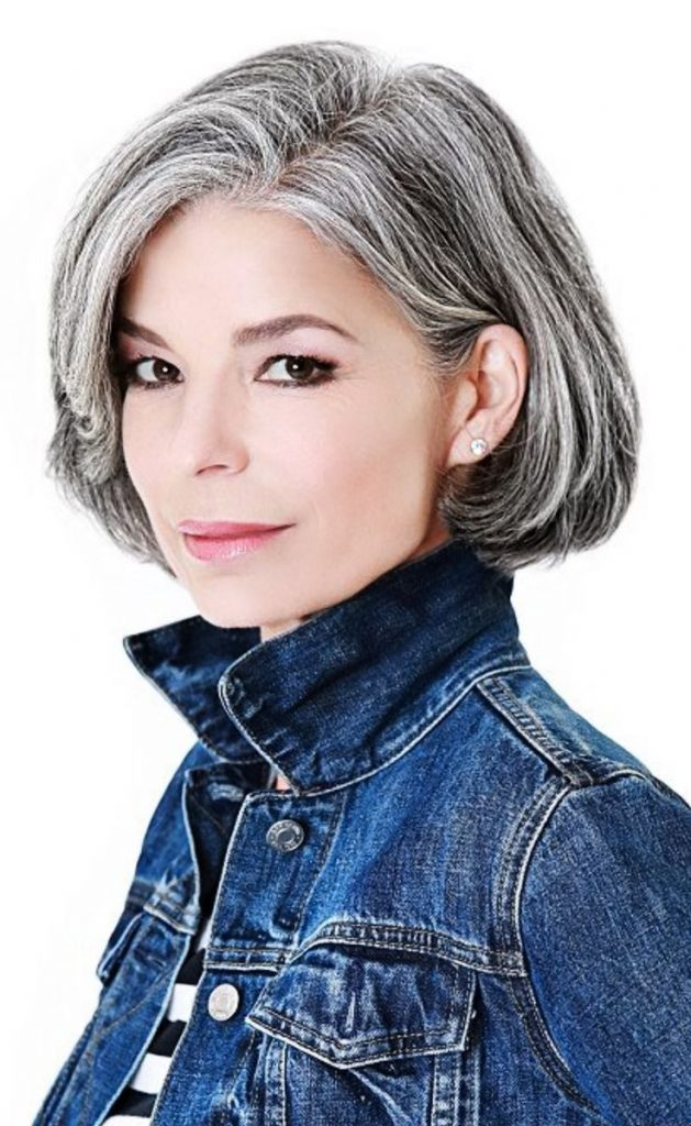 Grey hair: Hide or Not to Hide? - HairStyles for Women