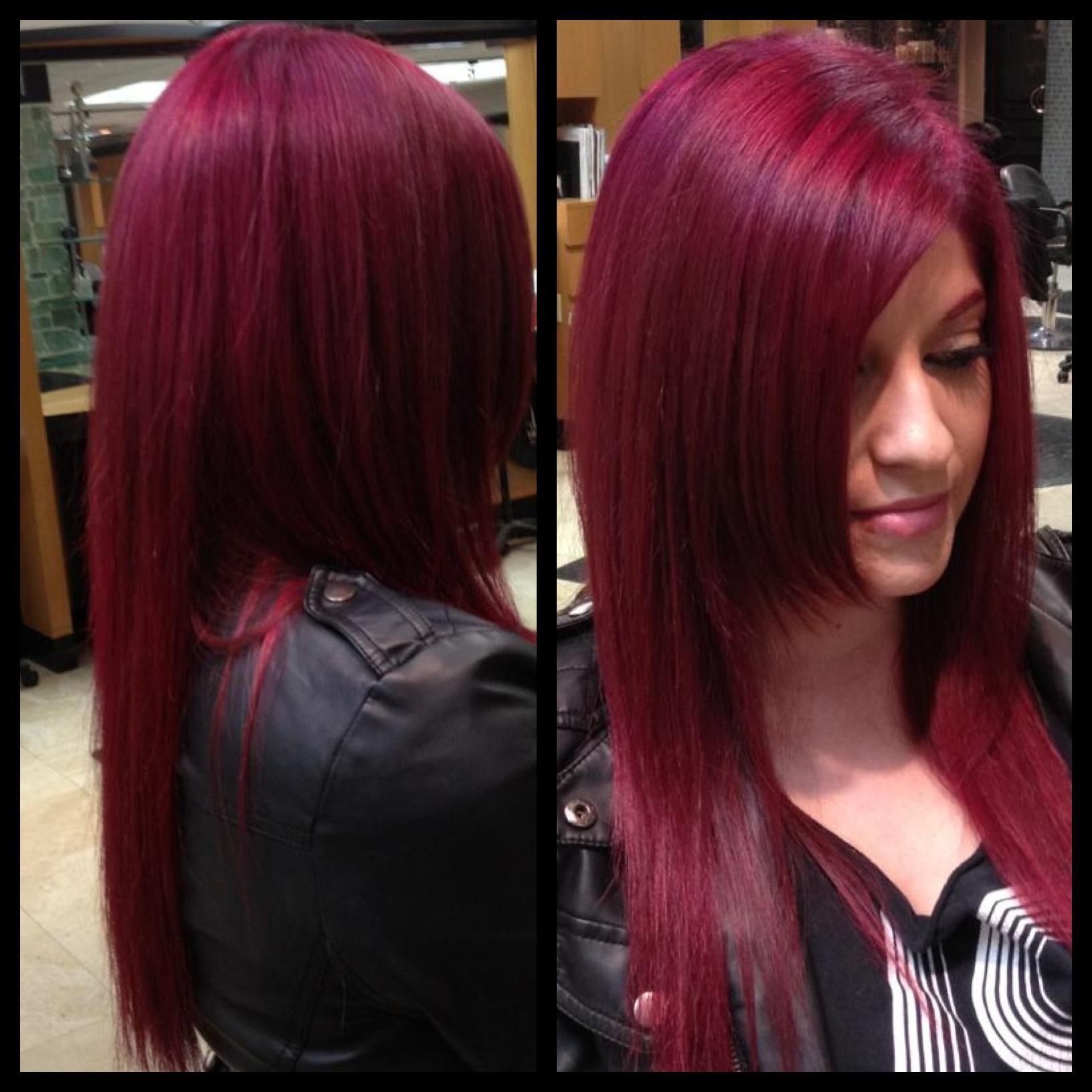 Magenta Hair Color Www Pixshark Com Images Galleries