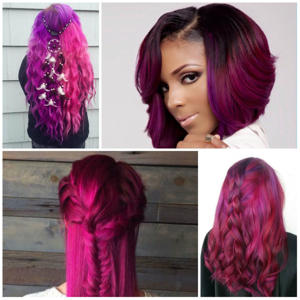 23 Ideas For Trendy Magenta Hair Color Hairstyles For Women