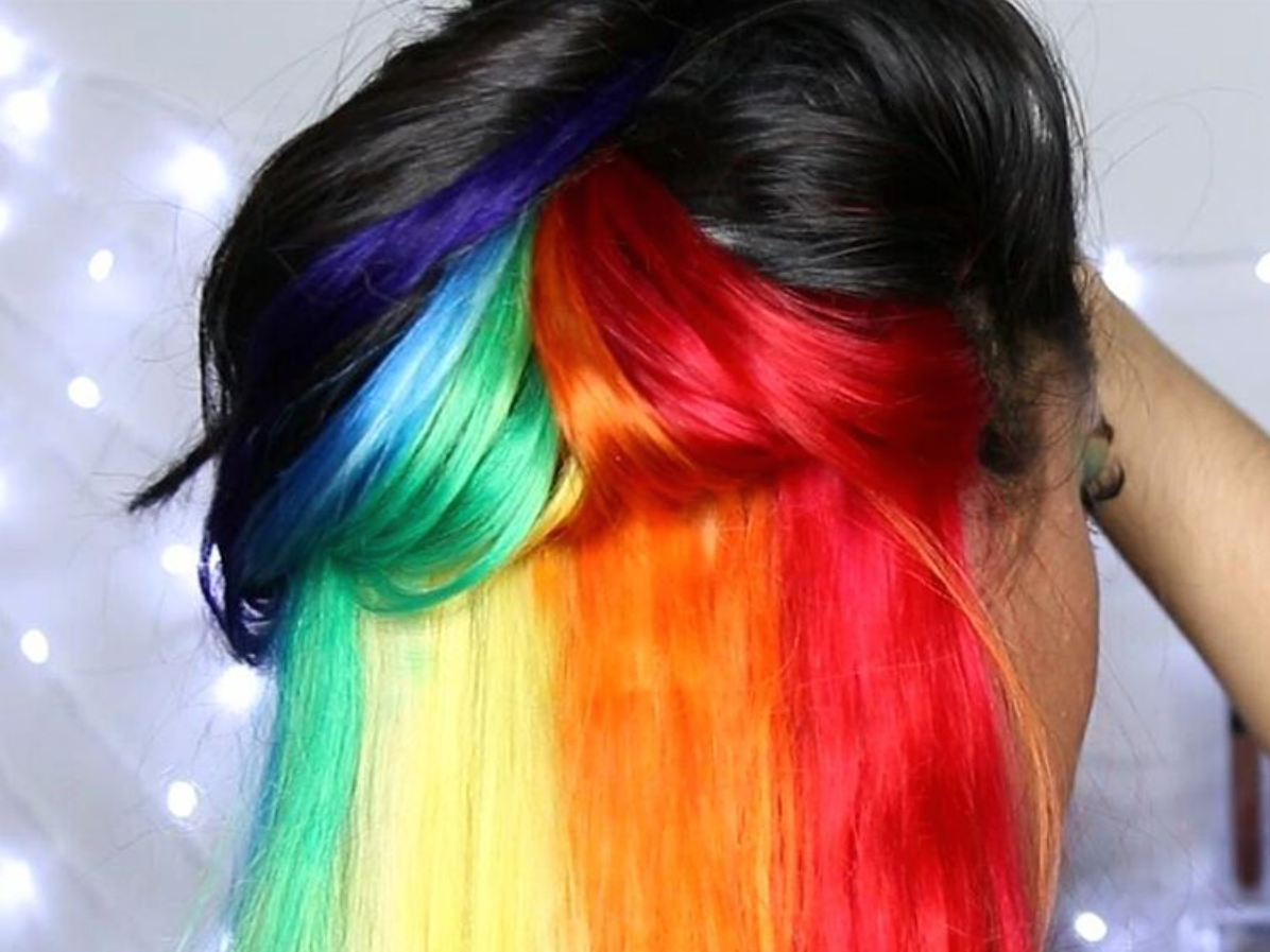Rainbow Hair Be Like A Rainbow 28 Reasons To Live In