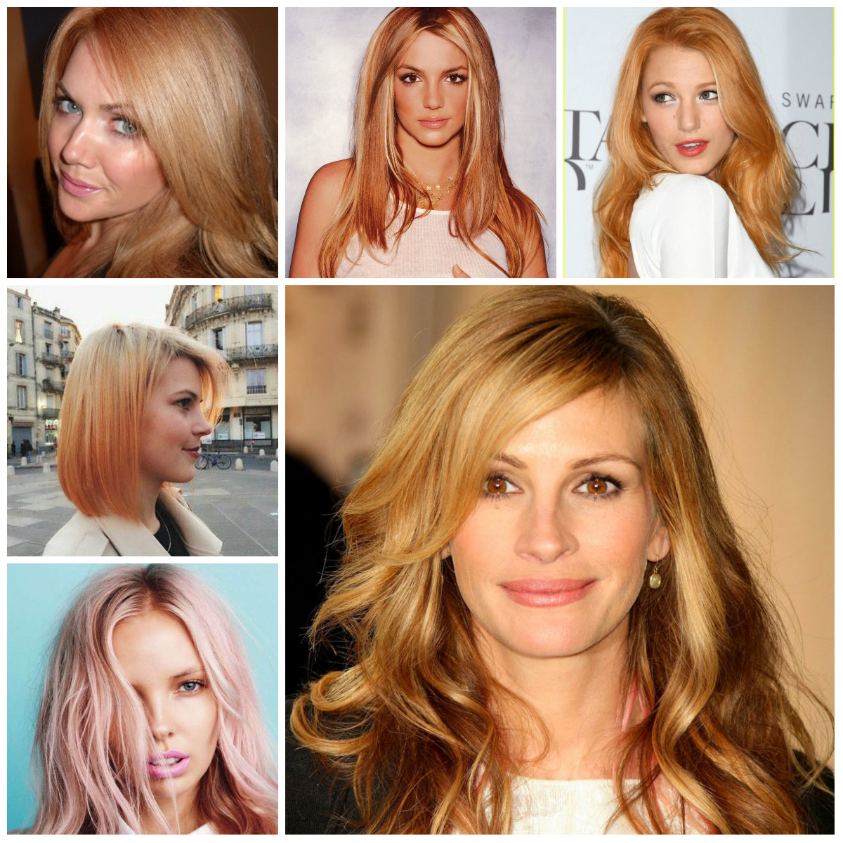 Make Way For Strawberry Blonde Ombre Hair Page 3 Hairstyles For