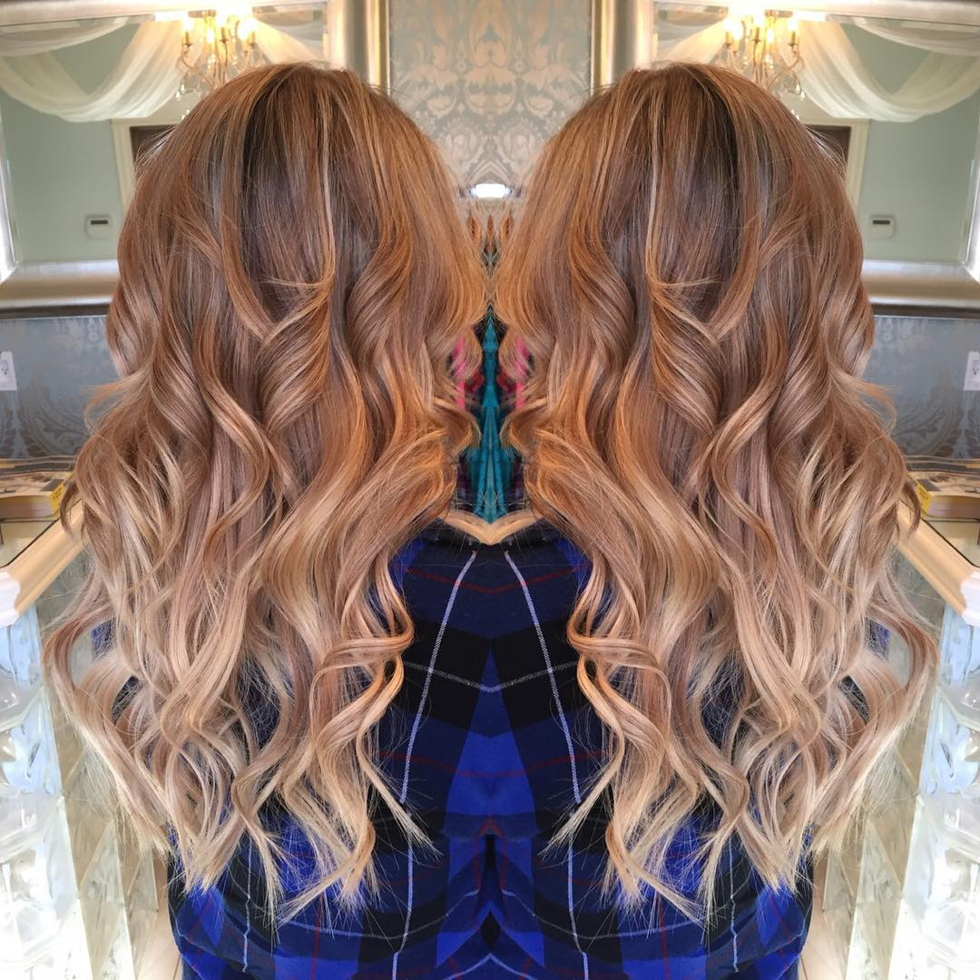 Make Way For Strawberry Blonde Ombre Hair Hairstyles