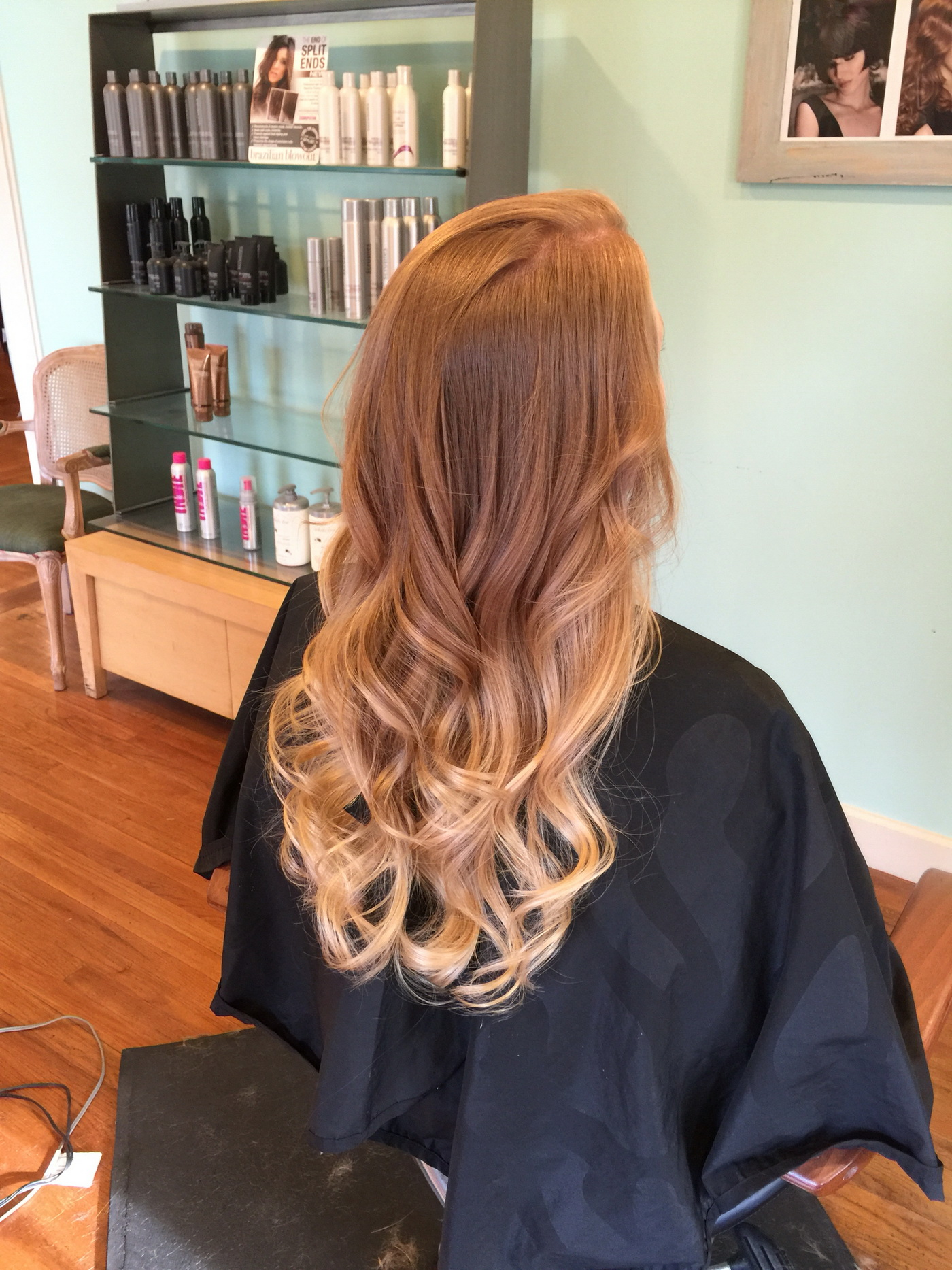 Make Way For Strawberry Blonde Ombre Hair Hairstyles For