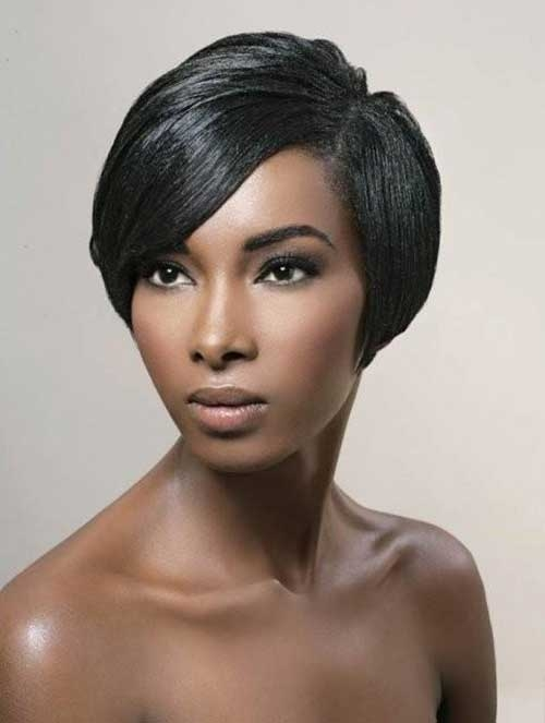 top 28 short bob hairstyles for black women � hairstyles