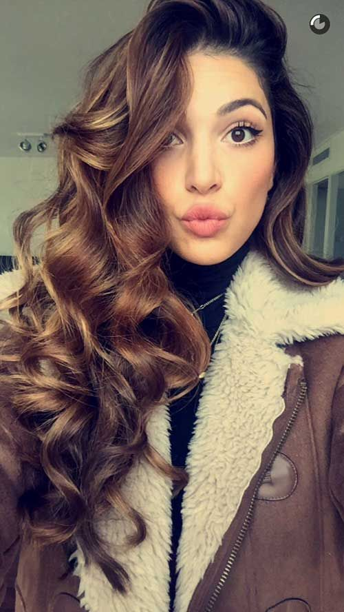 37 Trendy and Cool Curls Hairstyles – HairStyles for Women
