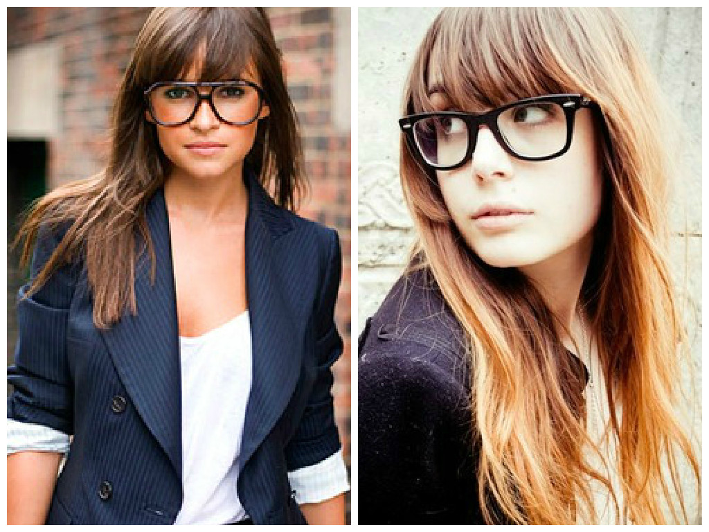 Top 30 HairStyles With Bangs And Glasses, The Perfect