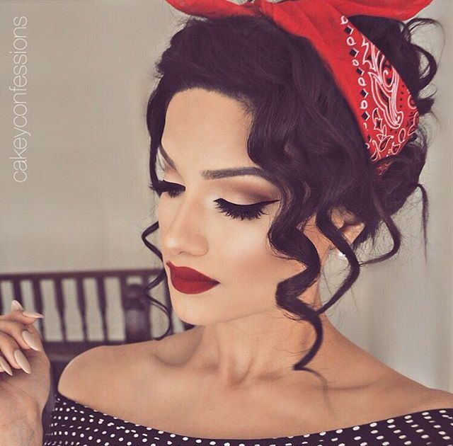 30 Pin Up Hairstyles Fashionable And Unique Hairstyles