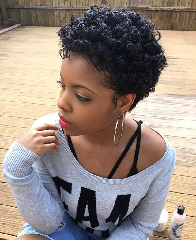 23 Nice Short Curly Hairstyles for Black Women – Page 15 ...