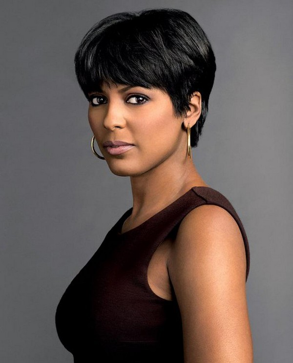 24 most suitable short hairstyles for older black women 11 tousled pixie haircut urmus Choice Image