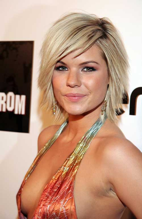 Top 34 Best Short Hairstyles With Bangs For Round Faces Hairstyles
