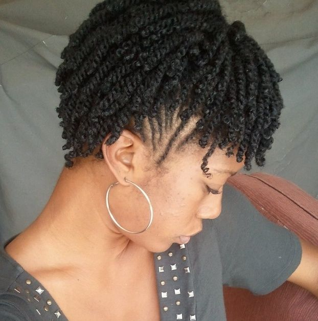 How To Style Short Natural Hair Top 29 Hairstyles Meant Just For Short Natural Twist Hair  Page .