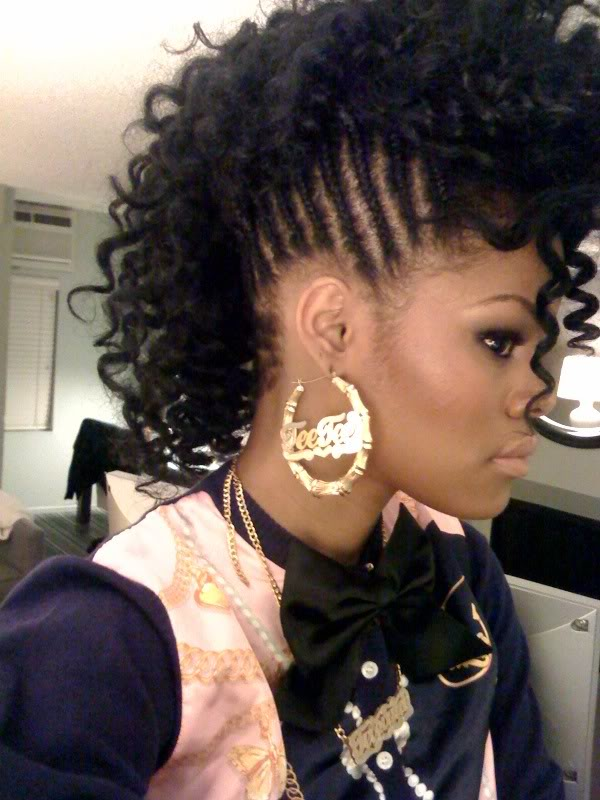 african american hairstyles with bangs photo - 3