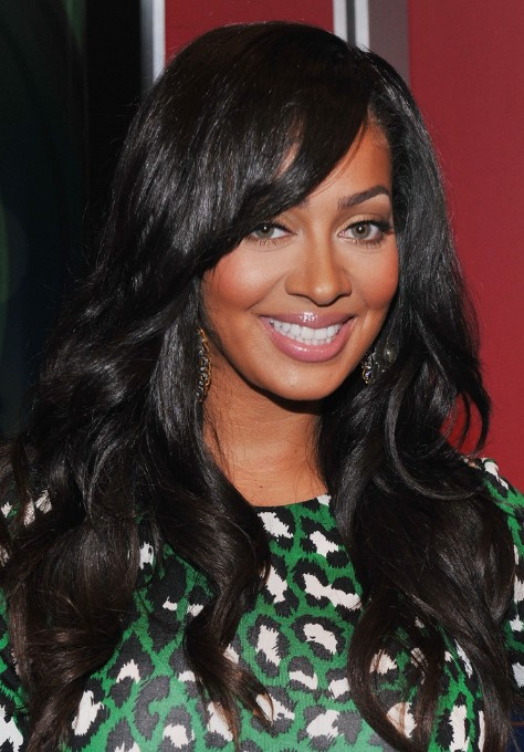 african american long hairstyles with bangs photo - 1