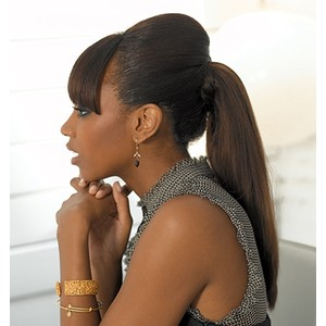 african american long hairstyles with bangs photo - 10