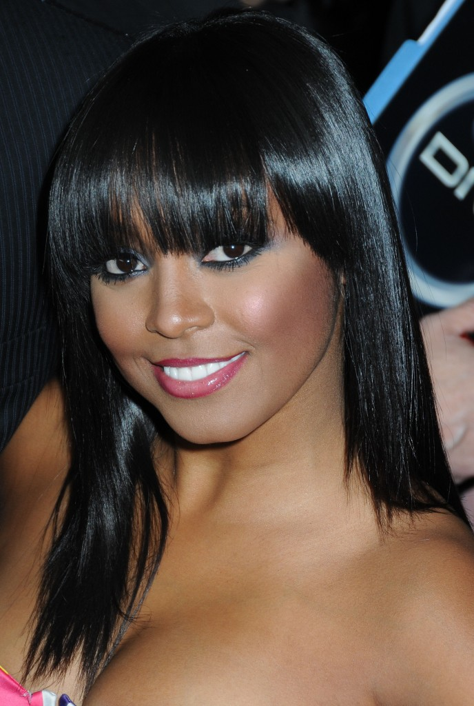 african american long hairstyles with bangs photo - 2