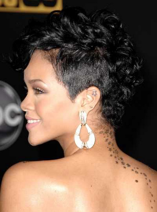 african american short hairstyles with bangs photo - 5
