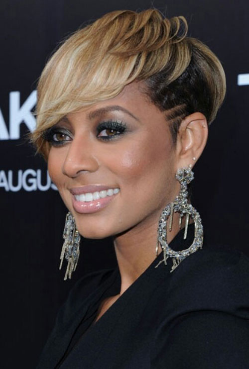 african american short hairstyles with bangs photo - 9