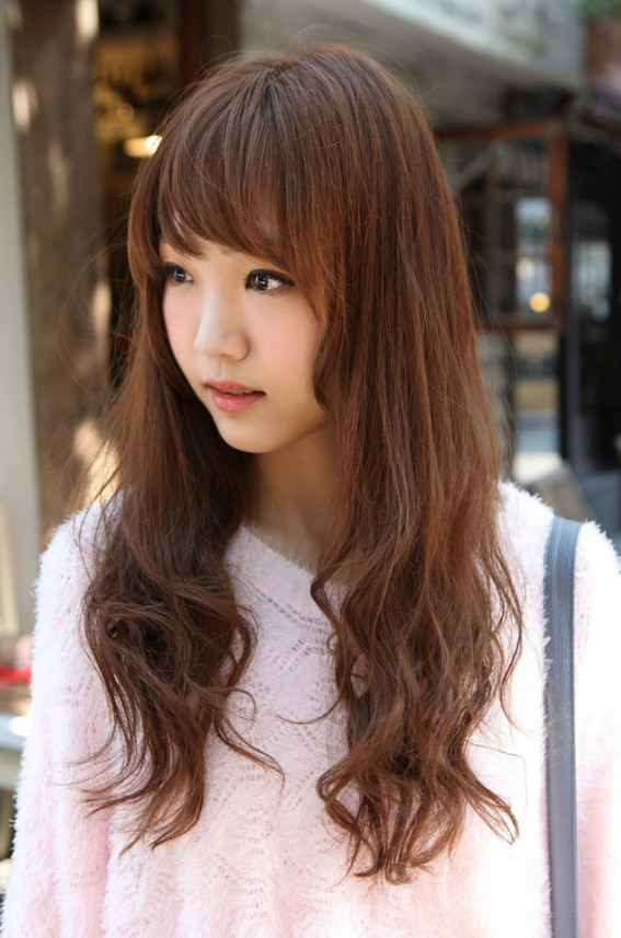 asian hairstyles with bangs photo - 1