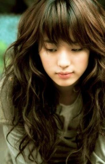 asian hairstyles with bangs photo - 10